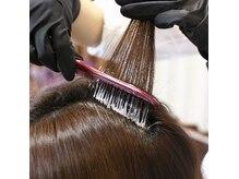 ヘアールシア(hair Lucia)の雰囲気(【頭皮に薬剤を直接付けないカラー方法】頭皮に優しく白髪予防に)