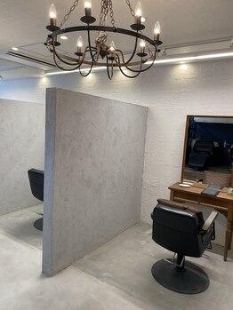 ベレッタ コウリエン(veretta kourien)の写真/半個室のプライベート空間で周りを気にせずリラックスできる☆心身ともに寛げる、癒しのサロンTimeを♪