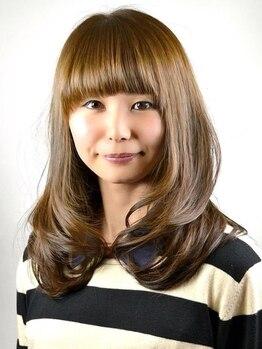 ルーモ(LUMO Hair)の写真/ルーモのCUT+カラーは髪に優しく、いつもと違った自分に出会える♪丁寧な施術にあなたも満足するはず!