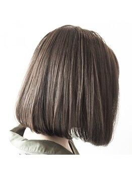 エフィル(efil.)の写真/【ツヤ・潤いを逃さずまとまりあるストレートヘア】カット+縮毛矯正+プラチナトリートメント初回¥16800