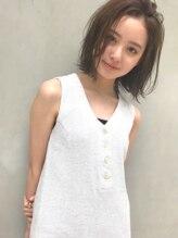 リンネルヘアー 名駅店(Rin:nel hair)【お客様スタイル】センシュアルショート/フォギーベージュ