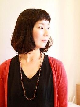 クラリヘア(kurari hair)の写真/【池下駅4分☆】安心・安全な素材にこだわりました。『髪は長い友達』長く付き合っていくための優しさ◎