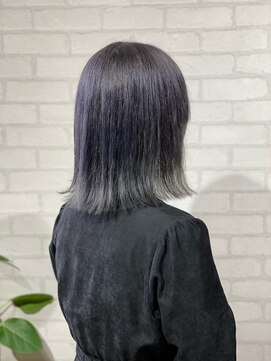 ビスイル 秋葉原店(Vis ill)ショートボブ/ブルーアッシュ/外人風カラー/モテ髪カタログ