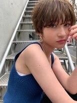 【HAVANA天神】大人かわいい☆小顔ひし形ショート×イルミナ