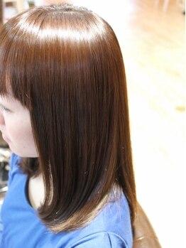 マリーヘアー(MARIE HAIR)の写真/パサツキを予防しツヤ感UPの「TOKIOトリートメント」で潤いUP♪本気で髪質を改善したい方にオススメ☆