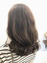 ヘアールーム モテナ(hair room motena)ラベンダーグレージュ【日暮里駅motena美容室】