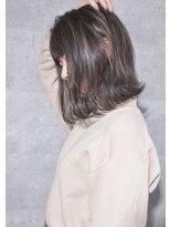 キアラ(Kchiara)kchiara川野直人/ハイライトバレイヤージュミルクティーグレイ