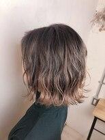 リリー ヘアーデザイン(Lilly hair design)ピンクベージュ/2019