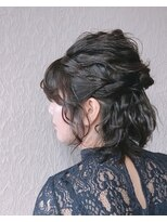 メグル(MEGURU,)短くて苦労したヘアセット