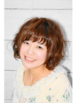 ヘアークリップ キューズ(HAIR CLIP Q's)☆ふわくしゅボブパーマ☆
