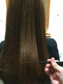 ヘアードレッシングショップ サロ(Hair Dressing Shop Salo)の写真/【COTAシリーズ取扱い店】髪質改善は新導入生オイルトリートメントが◎大人女性の上質ケアで艶めく美髪へ…