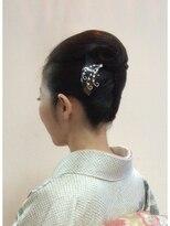 アドゥーヘアー(A do hair)お着物に似合うスタイル