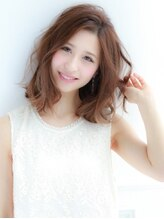 エイチエムヘアー 吉祥寺店(H M hair)ルーズカール透明感ミディ H//M