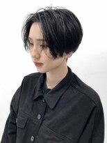 シキナ(sikina)【ナカムラ_design】モード ショート センター分け