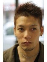 キレイ目×ルードMIX☆2ブロックボウズスタイル