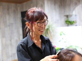 サロン アノンズ(Salon AnonZ)の写真/ダメージレスにこだわった施術で、髪のパサつきやゴワつきを改善!!髪のダメージを解消し、美しい髪へ。