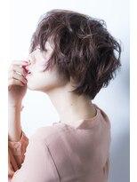 ナチュラルショートボブ【miel hair blanc】