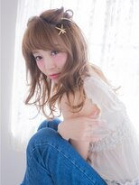 オジコ(ojiko)☆月曜日営業☆ojiko.愛され女子のゆるふわハーフアップ
