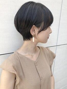 トゥーナ 表参道(tona)の写真/美容室で思い通りにならない人にこそ来てほしい!顔周り1mmのカットで人生が変わる!