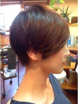 ヘアーアシスト ケーエス(Hair Assist KS)の写真/≪年齢髪のお悩み解決!≫大満足のパーソナルカット技術◎あなたにフィットしたお手入れしやすいスタイルに