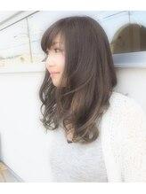 ニナヘア(nina hair)【ninahair】×アディクシーカラーグレーパール×サファイヤ