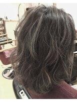 ヘアーサロン リアン 鴻巣店(hair salon Rien)大人気!極細ハイライトデザインカラー♪