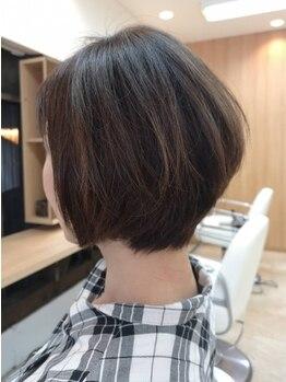 ブーム ヘアー みなみ野店(BooM hair)の写真/お客様に寄り添うカウンセリングで、大人の魅力を最大限に引き出しつつ髪の状態に合わせたご提案を♪