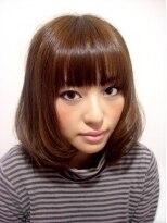 ヘアーリゾート ラヴィニール 新宿東口店(Hair Resort L´avenir)重めボブ