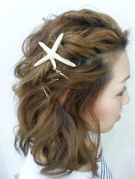 ヘアアンドメイクジップ恵比寿 (Hair&Make ZIP)ショートサマースタイル