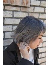 アンシー ヘア デザイン(an-cie hair design+)【NEW】外はねボブ×グレージュ☆