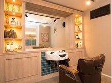 リノデザイン(LINO DESIGN)の雰囲気(半個室の男のロマンが詰まったBarberブース。女性も大歓迎です★)