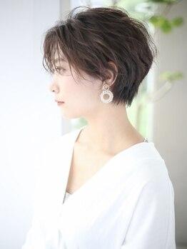 ヘアメイク ブーケ(HAIR MAKE Bouquet)の写真/【橋本駅スグ★】簡単で扱いやすいショートヘアをご提案☆高い技術力であなたのなりたいを叶えてくれる♪