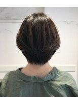 ノート 中目黒(note)[30代・40代大人女性]大人かわいい小顔ショートボブ中目黒