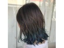 ヘアーメイク リアン 新田辺店(Hair Make REAN)の雰囲気(デザインカラー[インナー・襟カラー・ハイライト]大人気◎)