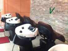 ヴァンカウンシル 伊勢佐木町店(VAN COUNCIL)の雰囲気(シャンプー台はすべて寝心地のいいYUMEシャンプー台です! )
