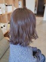 キートス ヘアーデザインプラス(kiitos hair design +)くすみカラー