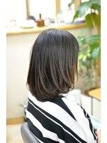 ハートフル(hair salon HEART FULL)ストレートロブ