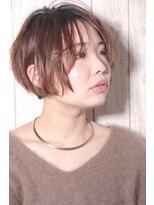ボンアミ(bon ami)抜け感☆くせ毛風ショートスタイル
