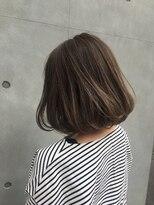 アリーズヘアー 青山(allys hair)フェミニンボブ × 外国人風ハイライトカラー【saori】