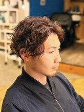 リビーチ ヘア リゾート 赤羽(Rebeach HAIR RESORT)【リビーチ】男の色気☆ニュアンスパーマ×ミディアムショート