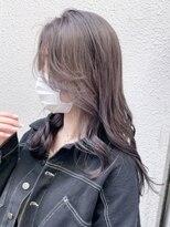 アルバム シンジュク(ALBUM SHINJUKU)グレージュ_フェザーバングマッシュショート_ba329111