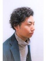 刈り上げジェントルマン【七三×スパイラルパーマ♪】