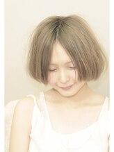 ヘアーメイク ハル(hair make halu)アンニュイドライ感ボブ