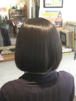 ヘア デザイン スタイリー(Hair Design stylee)の写真/【大人気メニュー】生トリートメント使用◎新鮮な作り立てトリートメントでパサついた髪も憧れのうる艶髪に