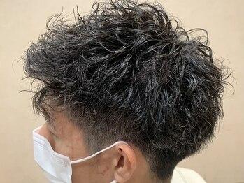 ルシード(LUCIDO STYLE JAPAN)の写真/くせ毛のナチュラルなstyleから強めスパイラル系まで幅広くパーマstyleを提案◎スタイリングを楽しめる!