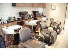 オアシスオーガニックビューティーサロン(oasis organic beauty salon)の雰囲気(天然ハーブオーガニックシャンプーでリラックスしてくださいね☆)
