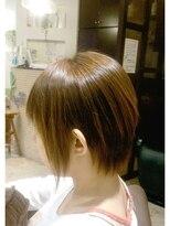 ローグヘアー 亀有店(Rogue HAIR)縮毛矯正ショートボブ