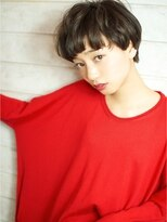 ベック ヘアサロン(BEKKU hair salon)まるいフォルムでコロンと可愛いやんちゃマッシュショート☆
