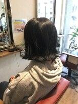 ヘア デザイン スタイリー(Hair Design stylee)切りっぱなし外ハネボブ