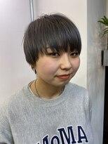 コレット ヘアー 大通(Colette hair)ショートヘア×Blue Black